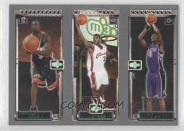 2003-04 Topps Rookie Matrix #DWLJCB - Dwyane Wade, Lebron James, Chris Bosh