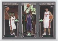 Lebron James, Chris Bosh, Darko Milicic
