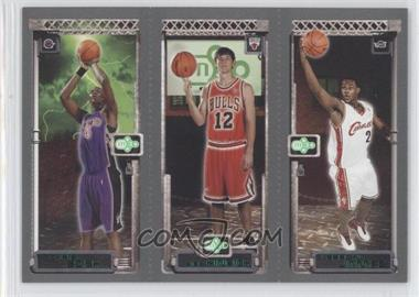 2003-04 Topps Rookie Matrix #LJKHCB - Lebron James, Kirk Hinrich, Chris Bosh