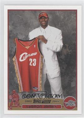 2003-04 Topps #221 - Lebron James