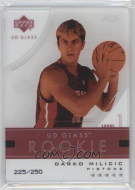 2003-04 UD Glass - [Base] #99 - Darko Milicic /250