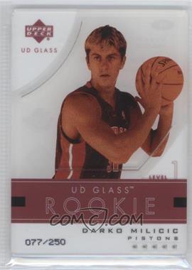 2003-04 UD Glass #99 - Darko Milicic /250