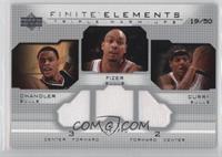 Eddy Curry, Tyson Chandler, Marcus Fizer /50