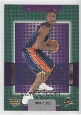 2003-04 Upper Deck Finite Gold #232 - Mickael Pietrus /100