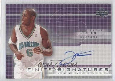 2003-04 Upper Deck Finite Signatures #JM - Jerome Moiso
