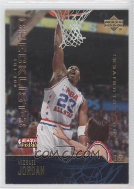 2003-04 Upper Deck Gold UD Exclusives #300 - Michael Jordan /100