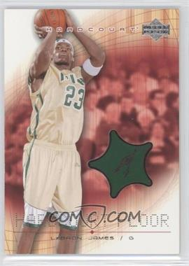 2003-04 Upper Deck Hardcourt - Hardcourt Floor #LJ-F - Lebron James