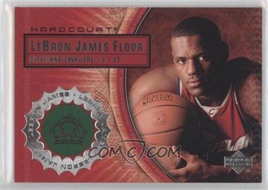 2003-04 Upper Deck Hardcourt - Lebron James Floor #LB12 - Lebron James