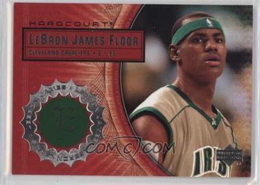 2003-04 Upper Deck Hardcourt - Lebron James Floor #LB2 - Lebron James