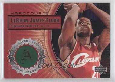 2003-04 Upper Deck Hardcourt - Lebron James Floor #LB8 - Lebron James