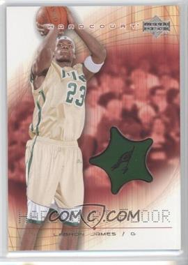 2003-04 Upper Deck Hardcourt Hardcourt Floor #LJ-F - Lebron James