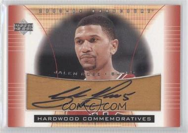 2003-04 Upper Deck Hardcourt Hardwood Commemoratives #JR-AF - Jalen Rose