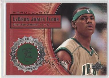 2003-04 Upper Deck Hardcourt Lebron James Floor #LB2 - Lebron James