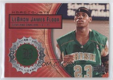 2003-04 Upper Deck Hardcourt Lebron James Floor #LB3 - Lebron James