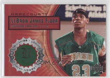 2003-04 Upper Deck Hardcourt Lebron James Floor #LB3 - Lebron James
