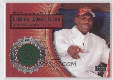 2003-04 Upper Deck Hardcourt Lebron James Floor #LB4 - Lebron James