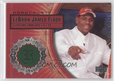 2003-04 Upper Deck Hardcourt Lebron James Floor #LB4 - Lebron James