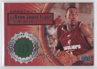 2003-04 Upper Deck Hardcourt Lebron James Floor #LB5 - Lebron James
