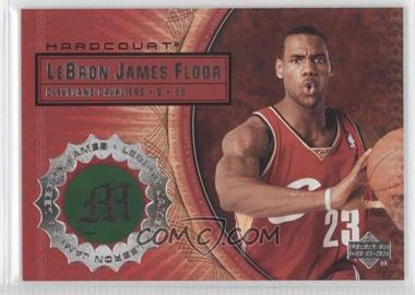 2003-04 Upper Deck Hardcourt Lebron James Floor #LB9 - Lebron James