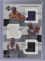 Kobe Bryant, Kevin Garnett, Tracy McGrady