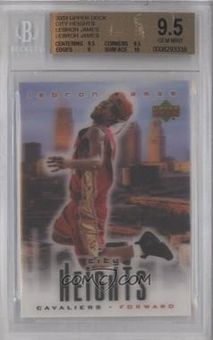 2003-04 Upper Deck Lebron James City Heights #LEJA - Lebron James [BGS 9.5]