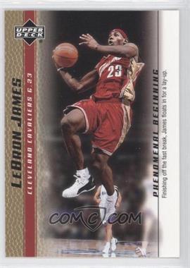 2003-04 Upper Deck Lebron James Phenomenal Beginning Box Set [Base] Gold #7 - Lebron James