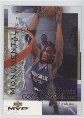 2003-04 Upper Deck MVP - Monumental Moments #MM7 - Amar'e Stoudemire