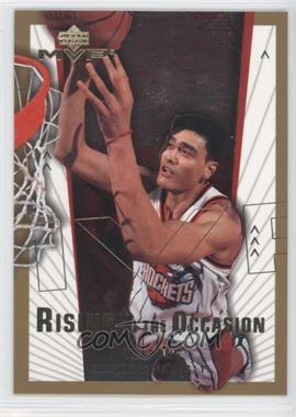 2003-04 Upper Deck MVP - Rising to the Occasion #RO8 - Yao Ming