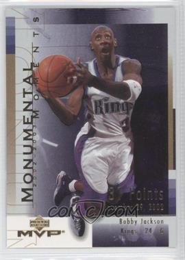 2003-04 Upper Deck MVP Monumental Moments #MM5 - Bobby Jackson