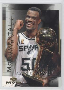 2003-04 Upper Deck MVP Monumental Moments #MM6 - David Robinson
