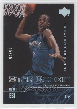 2003-04 Upper Deck Rainbow UD Exclusives #326 - Ndudi Ebi /25