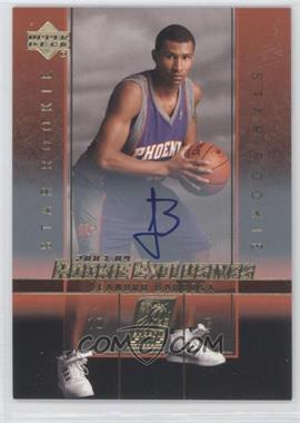 2003-04 Upper Deck Rookie Exclusives Autograph [Autographed] #A23 - Leandro Barbosa