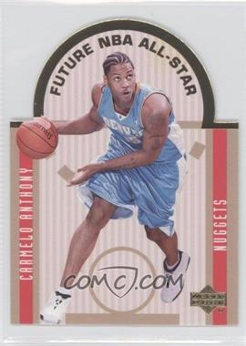 2003-04 Upper Deck SE Die Cut Future All Stars #E13 - Carmelo Anthony