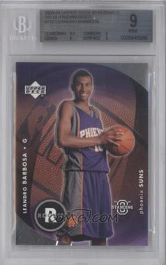 "2003-04 Upper Deck Standing ""O"" - [Base] - Die-Cut/Embossed #112 - Leandro Barbosa [BGS 9]"