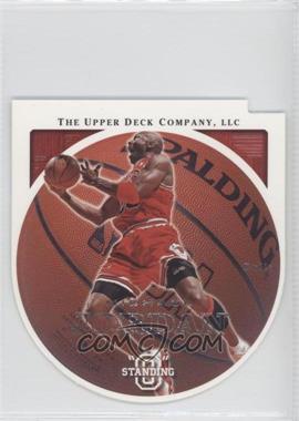 """2003-04 Upper Deck Standing """"O"""" - [Base] - Die-Cut/Embossed #9 - Michael Jordan"""