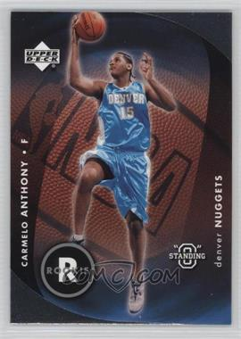 """2003-04 Upper Deck Standing """"O"""" - [Base] #87 - Carmelo Anthony"""