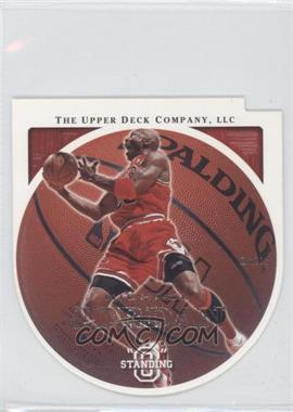 "2003-04 Upper Deck Standing ""O"" Die-Cut/Embossed #9 - Michael Jordan"