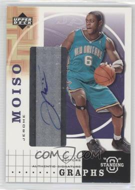 "2003-04 Upper Deck Standing ""O"" Graphs [Autographed] #JM - Jerome Moiso"