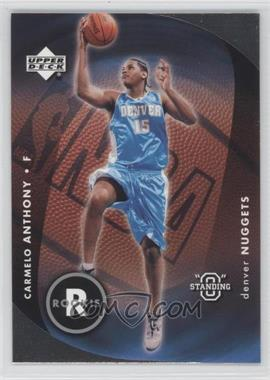 """2003-04 Upper Deck Standing """"O"""" #87 - Carmelo Anthony"""
