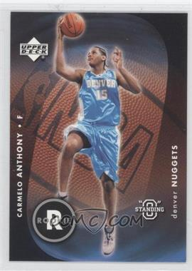 "2003-04 Upper Deck Standing ""O"" #87 - Carmelo Anthony"