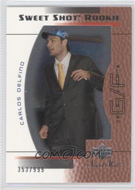 2003-04 Upper Deck Sweet Shot #115 - Carlos Delfino /999