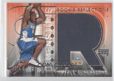 2003-04 Upper Deck Triple Dimensions - [Base] #130 - Carmelo Anthony /999