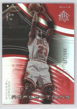 2003-04 Upper Deck Triple Dimensions - Reflections - Ruby #5 - Michael Jordan /500