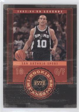 2003-04 Upper Deck UD Legends #93 - Alex Garcia /1999