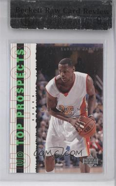 2003-04 Upper Deck UD Top Prospects Promos #P3 - Lebron James