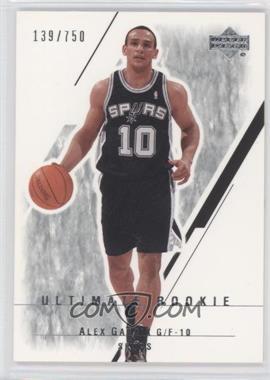 2003-04 Upper Deck Ultimate Collection - [Base] #122 - Alex Garcia /750