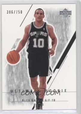 2003-04 Upper Deck Ultimate Collection #122 - Alex Garcia /750