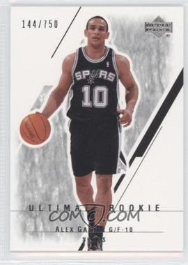 2003-04 Upper Deck Ultimate Collection #122 - Alex Garcia /750