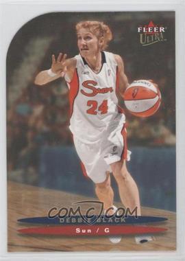 2003 Fleer Ultra WNBA - [Base] - Gold Medallion Edition #72 - Debbie Black