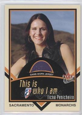 2003 Fleer Ultra WNBA - This is who I am - Game-Worn Jersey #W-TP - Ticha Penicheiro